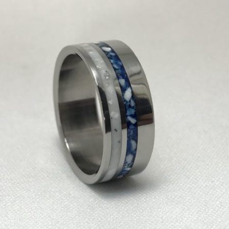 titanium cremation jewelry