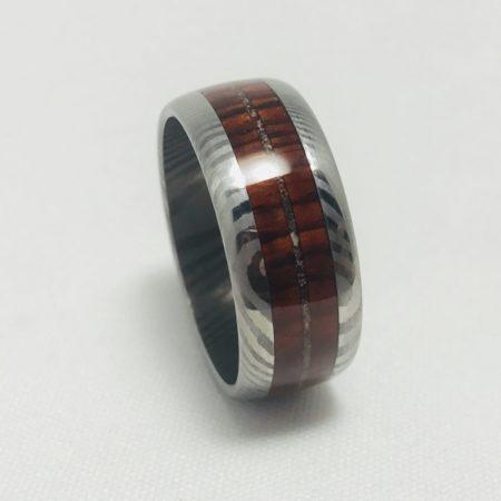 Damascus Wedding Ring