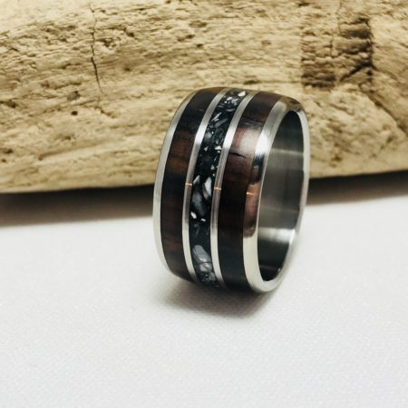mens wide band ring