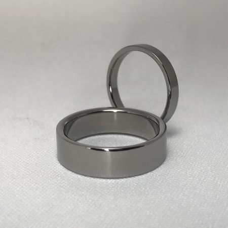 Titanium Ring Set – Matching Rings