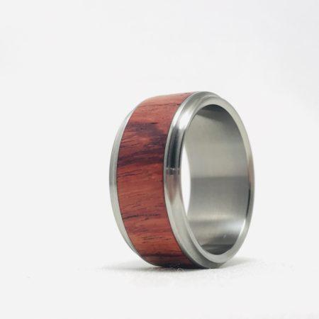 Mens Tulipwood Ring